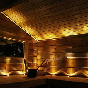 SAUNA LED LIGHTS 9pcs Warm White Complete Set With Driver 80 degrees light angle
