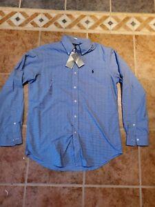 Ralph Lauren Button Up Dress Shirt Men Size medium M classic fit