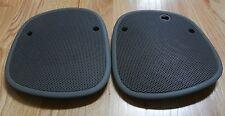 Light Grey 98+ S10 Blazer Sonoma Jimmy Bravada Dash Speaker Cover Grills Pair