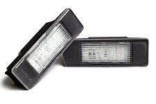 For Peugeot 106 1007 207 207CC 307 407 508 LED License Number Plate Light  White