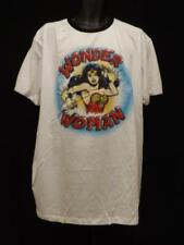 New DC Comics Wonder Woman Cartoon Mens 2XL 2XLarge White Shirt