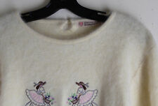 Japanese Very Fluffy Furry 80% or 40% Angora Kawaii Korean Cute Sweater S M L