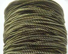 1M Brass Cuban Curb Link Chain for Necklaces Bracelets 3.3 feet Bronze 1.5mm