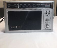 General Electric AM FM Dual Power Radio Vintage Model 7-2850A