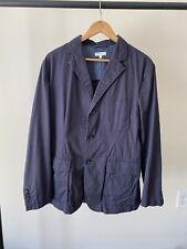 Engineered Garments Navy Cotton Twill Baker Jacket - Navy - Large - SS17