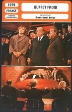 BUFFET FROID - Depardieu,Carmet,Blier,Bouquet (Fiche Cinéma) 1979 - Cold Cuts