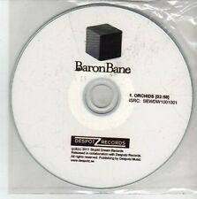 (CH566) Baron Bane, Orchids - 2011 DJ CD