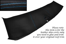 BLUE STITCH FITS CORVETTE C5 97-04 HALO ROOF TRIM LEATHER SKIN COVER ONLY