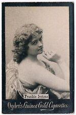 Vintage Ogden's Guinea Gold Cigarettes Frankie Ivotene Tobacco Card