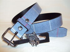 NEW RIP CURL SURF MEN'S MONTEREY CHARCOAL BLUE BELT SIZE L/XL #317