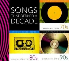 Songs That Defined a Decade Christian Hits of the 70s 80s 90s NEW 3 CDs 30 Songs