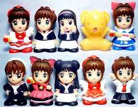 Card Captor Sakura Mascot Figure Doll Set of 10 combine save ship cost Japan New