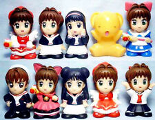 Card Captor Sakura Mascot Figure Doll Set of 10 combine save ship cost Japan New