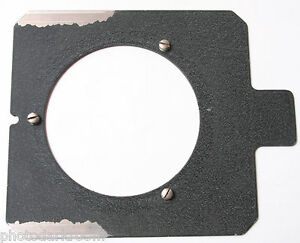 "Omega D Series Enlarger 6x6.25"" Flat Lens Mount Board with Screws - USED D2U"