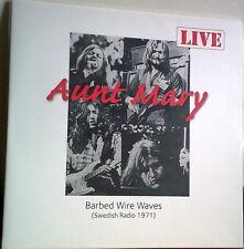 AUNT MARY - BARBED WIRE WAVES 71 LIVE RADIO NORWEGIAN HEAVY PROG ROCK LTD EDT LP
