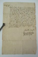 1733 Ulster County NY Order to Town of Hurley Assessor Signed by 3 Supervisors