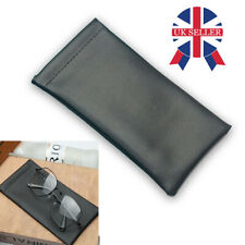 NEW Set Of 2 Reading Glasses//Sunglasses Pouch Sleeve Cases 1 x Navy Blue 1 x Grey