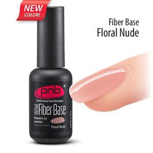 Fiber Base PNB Nylon Coated Base Milk White, Clear Pink, Milk Pink LED/UV