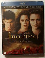 PELICULA BLURAY CREPUSCULO 2: LUNA NUEVA ED.ESPECIAL 2 DISCOS METAL PRECINTADA