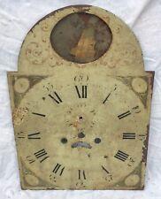 Un Muy Raro Antiguo Longcase Dial Reloj De Péndulo h26 barco oscilante h26