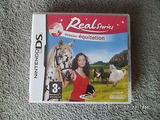 JEU NINTENDO DS  3DS : REAL STORIES MISSION EQUITATION    J73