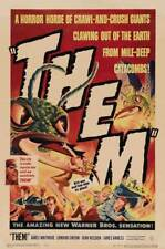 Them! (1954) Style-A James Whitmore Vintage 50s Scifi Monster Movie Poster 27x40