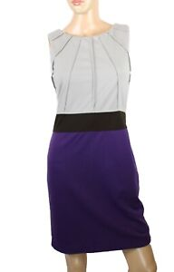 Etincelle Couture Robe Femmes Violet Fourreau Taille T1 (Taille US S)
