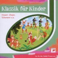 KLASSIK FÜR KINDER (MOZART, BEETHOVEN, DEBUSSY UVM) CD 13 TRACKS CLASSIC NEU