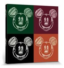 Micky Maus - Walt Disney Film Poster Leinwand-Druck Bild (40x40cm) #115442