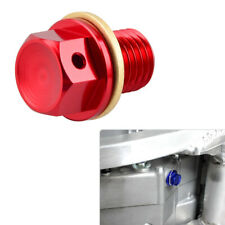 Magnetic Oil Drain Plug Bolt CNC For Honda CR125 CR250 CR480 CR500 CR125R CR250R