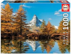 Educa 1000pc Jigsaw Puzzle - Matterhorn Mountain in Autumn