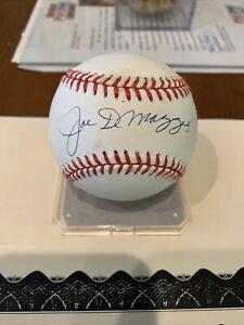 Joe DiMaggio Autographed baseball with COA