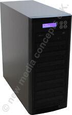 CD und DVD Kopierstation Kopiersysteme 1:7 mit LCD Display Copytower Brennturm