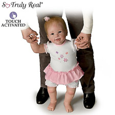 Lifelike Interactive Walking Baby Doll by Linda Murray: Isabellas First Steps