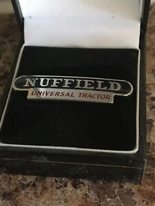 Brand New Nuffield Universal Tractor Badge  Pin Badge, Lapel Badge