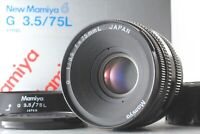 【Optical TOP MINT w/ Hood Box】 Mamiya G 75mm f/3.5 L For New 6 From Japan 1065