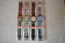 SWATCH Swiss Art Set  700 YEARS SWISS + 3rd Edition 4 Uhren Neu in Box limitiert