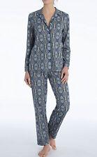 CALIDA Pyjama lang Noée 36-38 blau 42736