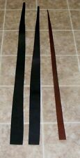 (QJE5287) Lot of 3 Heavy Weight Dark Brown/Black Leather Pieces