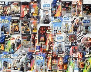 Star Wars Figures (C) POTF2💥POTJ💥ROTS💥OTC💥SAGA💥TVC💥TPM💥TFA💥BLACK SERIES