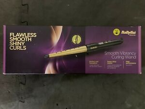 BaByliss 2285DU Smooth Vibrancy Curling Wand Gold