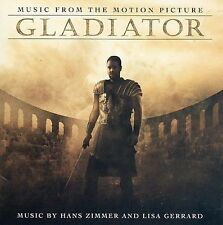 HANS ZIMMER AND LISA GERRARD - GLADIATOR MUSIC FROM THE MOTION PICTURE  CD