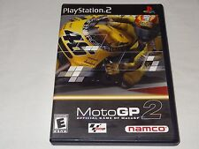Moto GP 2 (PS2) Sony PlayStation 2 Namco 2001 Motorcycle Racing Game Rated E