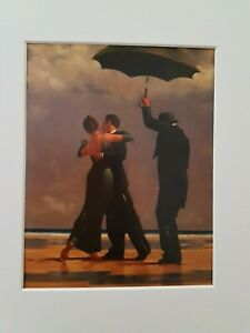 Jack Vettriano Dancer in Emerald Mounted Art Print Special Offer NEW