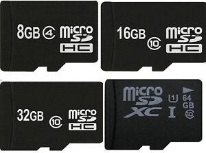 MicroSD Speicherkarte Micro SD 16GB 32GB 64GB 128GB Class 10 für nintendo switch