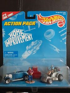 Hot Wheels Action pack Home Improvement Tool Time W Tim