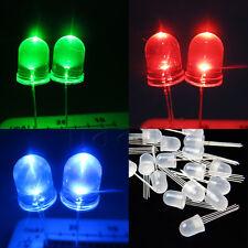 Lot 20pcs Ultra-Bright variation automatique 10mm 4 pin RGB Common Anode LED HG