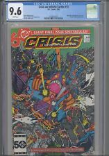 Crisis On Infinite Earths #12 CGC 9.6 1986 DC Wally West/New Flash: New Frame