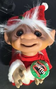 """23"""" Smithy Plush Norfin Troll Christmas Stocking With Original Tags"""