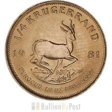 1/4 oz Precious Metal Content per Unit Gold Bullion Coins